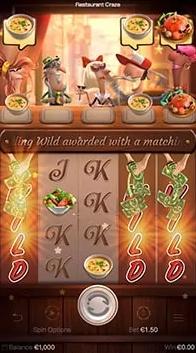 รีวิว : เกมส์สล็อต Restaurant Craze ร้านอาหารสุดเพลิน รางวัลดีมีเล่นฟรี